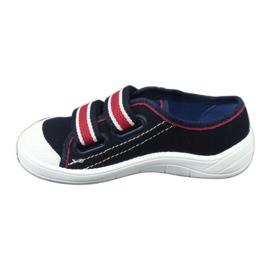 Dječje papuče Befado 672x058 bijela crvena mornarsko plava 3
