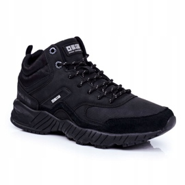 Muške trekker cipele Big Star Outdoor Crna GG174409 1