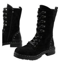 Crne čizme, čizme, čizme od Isorisa crna 1