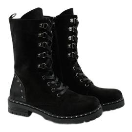 Crne čizme, čizme, čizme od Isorisa crna 3