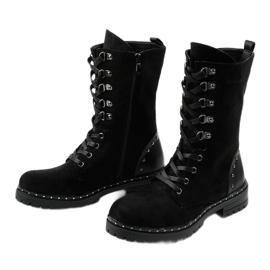 Crne čizme, čizme, čizme od Isorisa crna 2