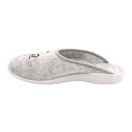 Papuče od filca Wake Up Adanex 25642 sive boje 1