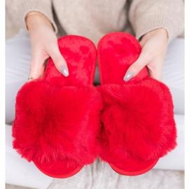 Bona Modne crvene papuče crvena 3