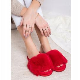 Bona Modne crvene papuče crvena 4