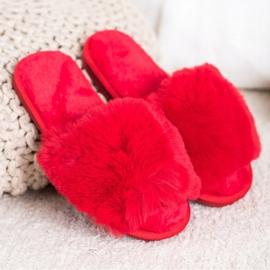 Bona Modne crvene papuče crvena 1