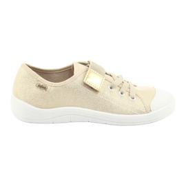 Befado dječje cipele 251Q071 raznobojna zlatna 1