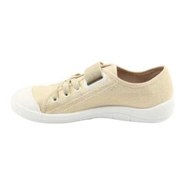Befado dječje cipele 251Q071 raznobojna zlatna 3