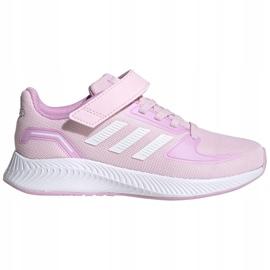 Cipele adidas Runfalcon 2.0 C Jr FZ0119 crno ružičasta 1