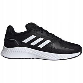 Cipele Adidas Runfalcon 2.0 K Jr FY9495 crno plava 1