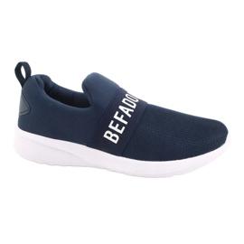 Befado dječje cipele 516Y082 bijela mornarsko plava 1