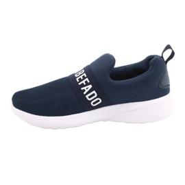 Befado dječje cipele 516Y082 bijela mornarsko plava 2