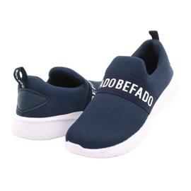 Befado dječje cipele 516Y082 bijela mornarsko plava 3