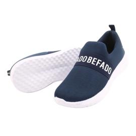 Befado dječje cipele 516Y082 bijela mornarsko plava 4