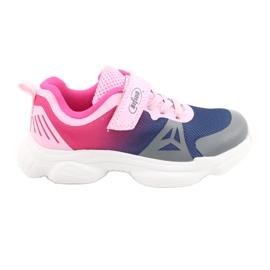 Befado dječje cipele 516X054 mornarsko plava ružičasta siva raznobojna 1