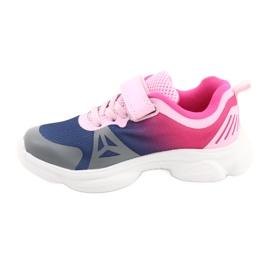 Befado dječje cipele 516X054 mornarsko plava ružičasta siva raznobojna 2