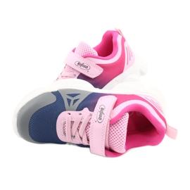 Befado dječje cipele 516X054 mornarsko plava ružičasta siva raznobojna 5