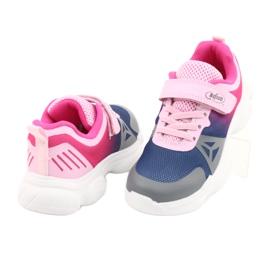 Befado dječje cipele 516X054 mornarsko plava ružičasta siva raznobojna 4