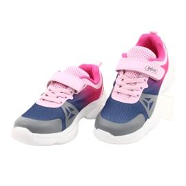 Befado dječje cipele 516X054 mornarsko plava ružičasta siva raznobojna 3