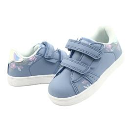 American Club Cipele na čičak ES22 / 21 plava srebro 3