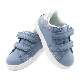 American Club Cipele na čičak ES22 / 21 plava srebro 4
