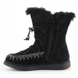 Zimske cipele Geox J Thymar GB Jr J944FB-00022-C9999 smeđa plava 4