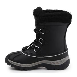 BearPaw Jr 1871Y Crne sive cipele crno 4