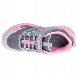 Skechers Twisty Brights W 302301L-GYPK Cipele ružičasta siva 2