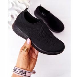 EVE Dječje sportske cipele Slip-On Black School Trip crno 2