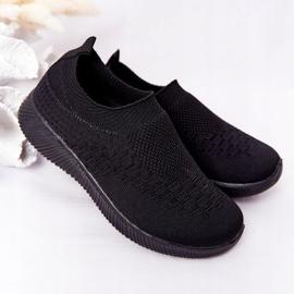 EVE Dječje sportske cipele Slip-On Black School Trip crno 1