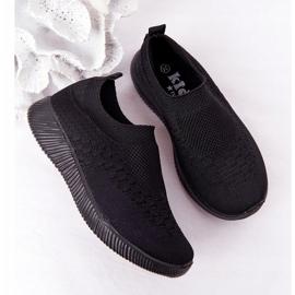 EVE Dječje sportske cipele Slip-On Black School Trip crno 5
