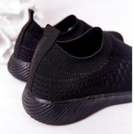 EVE Dječje sportske cipele Slip-On Black School Trip crno 4