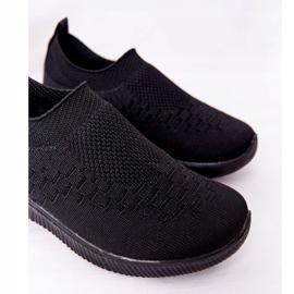EVE Dječje sportske cipele Slip-On Black School Trip crno 3