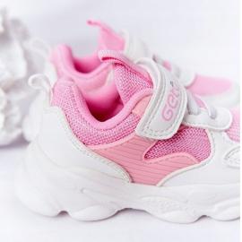 Dječje sportske cipele Tenisice bijeli i ružičasti šećer bijela ružičasta 1