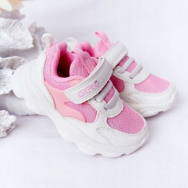 Dječje sportske cipele Tenisice bijeli i ružičasti šećer bijela ružičasta 4