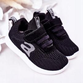 Apawwa Dječje crne sportske cipele Mali sportaš crno 2