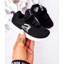 Apawwa Dječje crne sportske cipele Mali sportaš crno 3