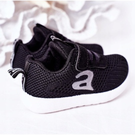 Apawwa Dječje crne sportske cipele Mali sportaš crno 1