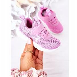 Apawwa Dječje sportske cipele tamno ružičaste boje Little Sportsman ružičasta 2