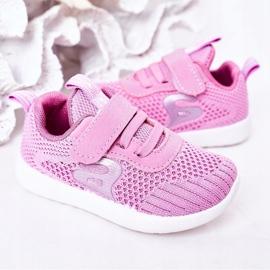 Apawwa Dječje sportske cipele tamno ružičaste boje Little Sportsman ružičasta 6