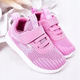 Apawwa Dječje sportske cipele tamno ružičaste boje Little Sportsman ružičasta 1