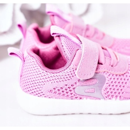 Apawwa Dječje sportske cipele tamno ružičaste boje Little Sportsman ružičasta 4