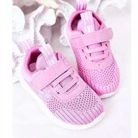 Apawwa Dječje sportske cipele tamno ružičaste boje Little Sportsman ružičasta 5