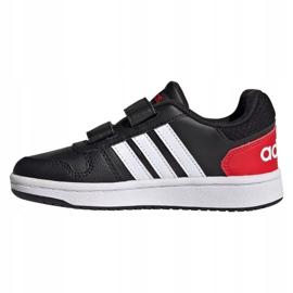 Adidas Hoops 2.0 C Jr FY9442 cipele crno 1