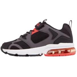 Kappa Yero dječje cipele crno-sivo-koraljni 260891K 1129 crvena siva 2