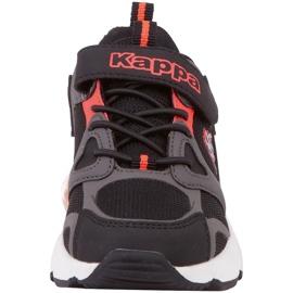 Kappa Yero dječje cipele crno-sivo-koraljni 260891K 1129 crvena siva 4