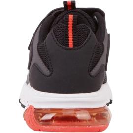 Kappa Yero dječje cipele crno-sivo-koraljni 260891K 1129 crvena siva 5