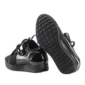 Kellijeve crne dječje tenisice crno 3