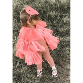 Dječje sportske cipele Tenisice Neon Pink Game Time bijela crno ružičasta 1