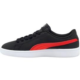 Puma Smash v2 Buck Jr 365182 26 cipele crno 1