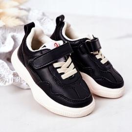 Apawwa Dječje sportske cipele Tenisice Black Runner crno 2